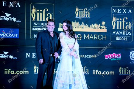 Editorial image of 21st International Indian Film Academy awards press conference  in Bhopal, India - 03 Feb 2020