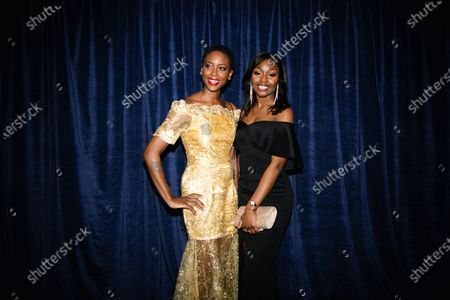 Tracy Ifeachor and guest