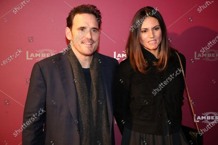 Stock Picture of Matt Dillon and his partner Paityn Moyer attend the Lambertz Monday Night event at Alter Wartesaal in Cologne, Germany, 03 February 2020. Every year the German chocolate manufacturer Aachener Printen- und Schokoladenfabrik Henry Lambertz celebrates an event where the models on the catwalk wear creations made of gingerbread, chocolate and sweets.