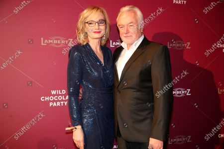 Stock Photo of German politician Wolfgang Kubicki and his wife Annette Marberth-Kubicki attend the Lambertz Monday Night at Alter Wartesaal in Cologne, Germany, 03 February 2020.