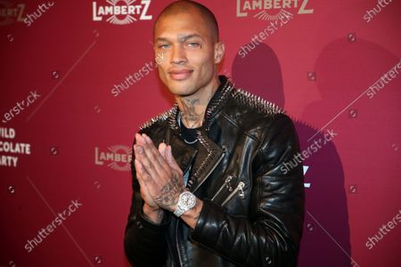 US model Jeremy Meeks attends the Lambertz Monday Night at Alter Wartesaal in Cologne, Germany, 03 February 2020.
