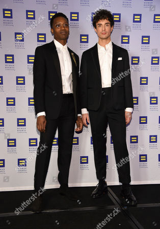 Ato Blankson-Wood, James Cusati-Moyer. Ato Blankson-Wood and James Cusati-Moyer appears at the 19th Annual Human Rights Campaign Greater New York Gala on in New York