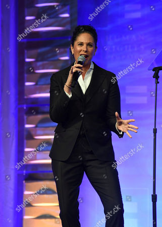 Comedian Dana Goldberg appears at the 19th Annual Human Rights Campaign Greater New York Gala on in New York