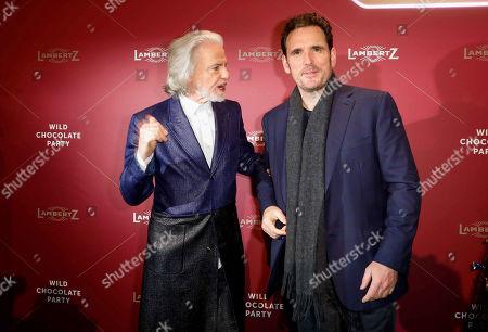 Dr Hermann Buehlbecker and Matt Dillon