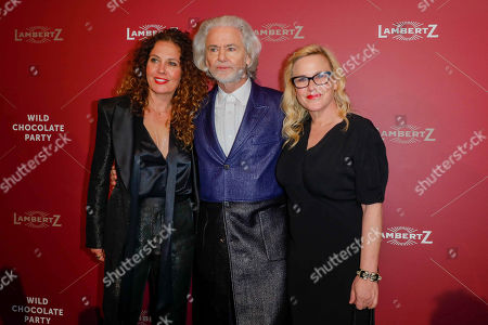 Stock Picture of Tara Smith, Dr Hermann Buehlbecker and Patricia Arquette