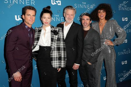 Matt Bomer, Jessica Biel, Bill Pullman, Chris Messina and Parisa Fitz-Henley