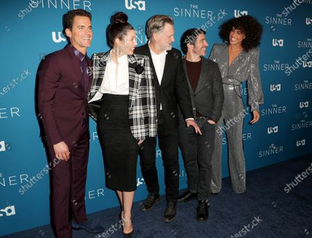 Stock Photo of Matt Bomer, Jessica Biel, Bill Pullman, Chris Messina and Parisa Fitz-Henley