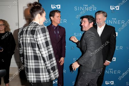 Jessica Biel, Matt Bomer, Chris Messina and Bill Pullman
