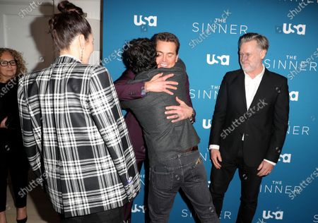 Matt Bomer, Chris Messina and Bill Pullman