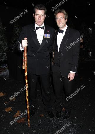 Major Phil Packer and Ben Fogle