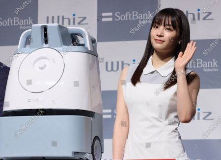 Editorial image of 'Whiz' robotic cleaner promotional event, Tokyo, Japan - 03 Feb 2020