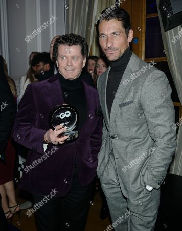 Stock Photo of Gerry McGovern and David Gandy