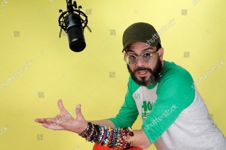 Alex Otaola speaks during an interview in Miami. Otaola, a 40-year-old Cuban-born YouTube personality who has organized boycotts of Cuban figures like Gente de Zona and singer Haila Mompié that have led to de facto bans on their performing in South Florida