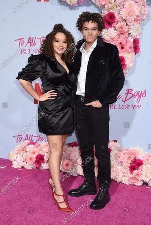 Talia Jackson and Armani Jackson