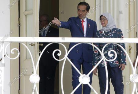 Editorial photo of Singaporean President Halimah Yacob visits Indonesia, Bogor - 04 Feb 2020