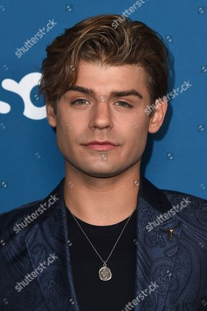 """Garrett Clayton arrives at the Los Angeles premiere of """"The Sinner"""" Season 3 at The London West Hollywood on"""