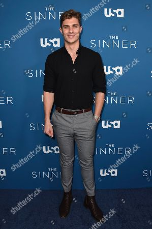 """Alex Cubis arrives at the Los Angeles premiere of """"The Sinner"""" Season 3 at The London West Hollywood on"""