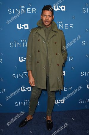 """Stock Photo of Jeffrey Bowyer-Chapman arrives at the Los Angeles premiere of """"The Sinner"""" Season 3 at The London West Hollywood on"""