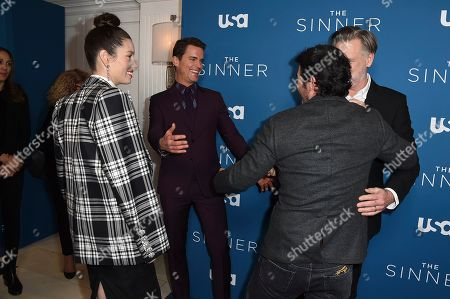 "Jessica Biel, Matt Bomer, Bill Pullman, Chris Messina. Jessica Biel, Matt Bomer, Bill Pullman and Chris Messina arrive at the Los Angeles premiere of ""The Sinner"" Season 3 at The London West Hollywood on"