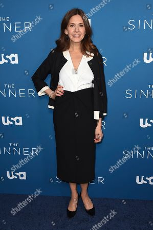 """Jessica Hecht arrives at the Los Angeles premiere of """"The Sinner"""" Season 3 at The London West Hollywood on"""
