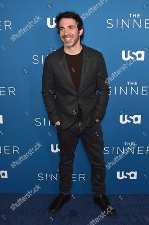 "Chris Messina arrives at the Los Angeles premiere of ""The Sinner"" Season 3 at The London West Hollywood on"