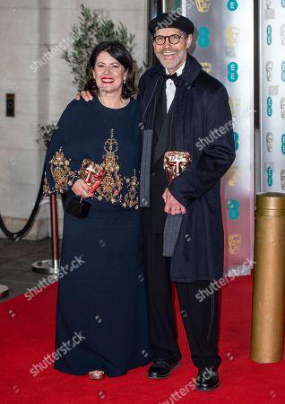 Pippa Harris and Callum McDougall