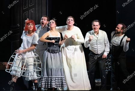 Editorial image of 'Alice's Adventures Under Ground' Opera performed at the Royal Opera House, London, UK - 03 Feb 2020