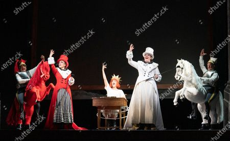 Editorial photo of 'Alice's Adventures Under Ground' Opera performed at the Royal Opera House, London, UK - 03 Feb 2020