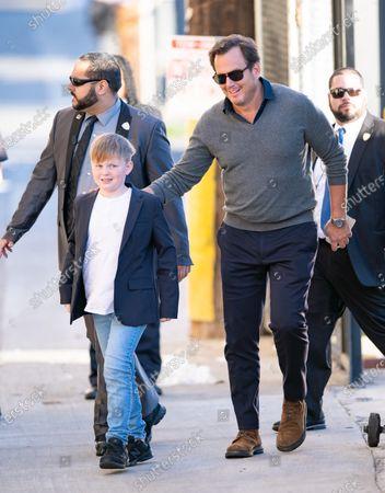 Will Arnett and son