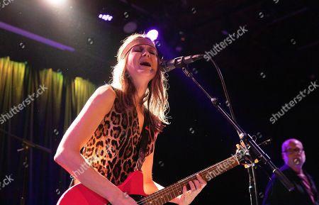Editorial image of Juliana Hatfield in concert at Slim's, San Francisco, California, USA - 28 Jan 2020