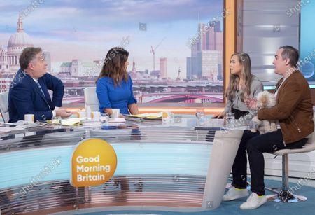 Piers Morgan, Susanna Reid, Jennifer White and Nick Ede