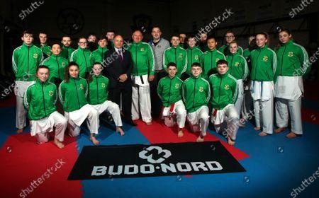 Editorial photo of The Sport Ireland & Olympic Federation of Ireland Recognised Karate Team Ahead of the World Karate Federation U21 & Junior European Championships - 04 Feb 2020