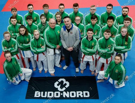 Editorial picture of The Sport Ireland & Olympic Federation of Ireland Recognised Karate Team Ahead of the World Karate Federation U21 & Junior European Championships - 04 Feb 2020