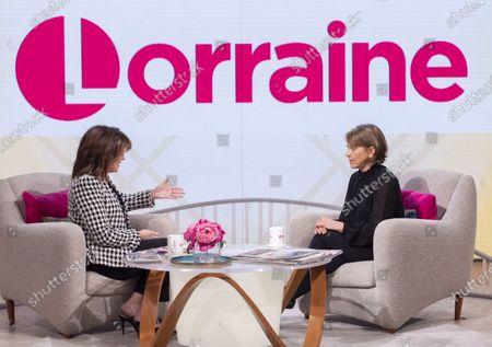 Lorraine Kelly and Nicola Walker