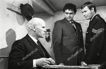 Ena's great-grandson Jason goes missing from his pram. Tony Steedman (as Det. Ins. Patterson), John Nightingale (as Det. Sgt. Simms) and Colin Edwynn (as Sgt. Conway)