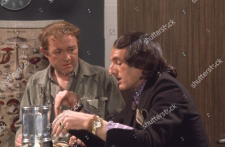 Graham Haberfield (as Jerry Booth) and Jeremy Young (as Benny Lewis)