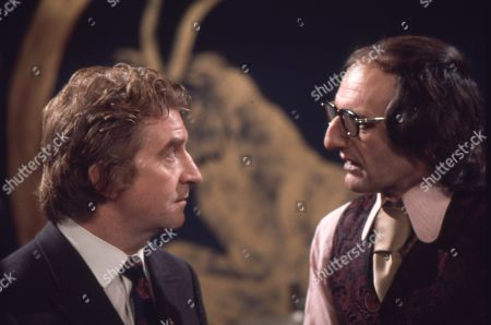 Peter Adamson (as Len Fairclough) and Jeremy Young (as Benny Lewis)