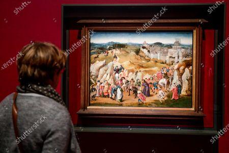 Welp Van Eyck exhibition opens MSK Museum Gent Stock Photos (Exclusive TA-16