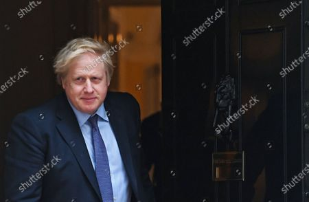 British Prime Minister Boris Johnson prepares to welcome the Sultan of Brunei to 10 Downing Street in London, Britain, 04 February 2020.