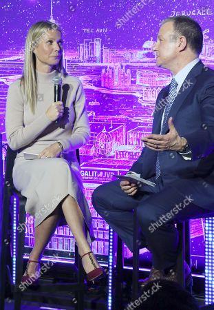 Gwyneth Paltrow and Dr. Erel Margalit