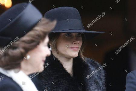 Queen Silvia and Princess Sofia of Sweden