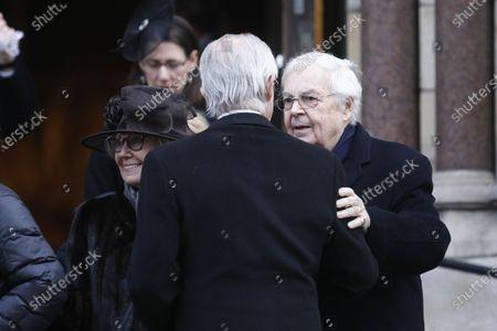 Editorial image of Funeral of Dagmar von Arbin, Oscars Church, Stockholm, Sweden - 04 Feb 2020