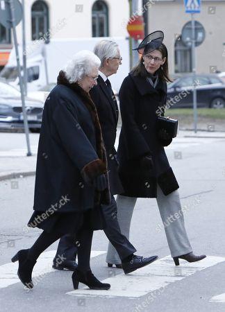 Princess Christina, Tord Magnuson and Bettina Bernadotte
