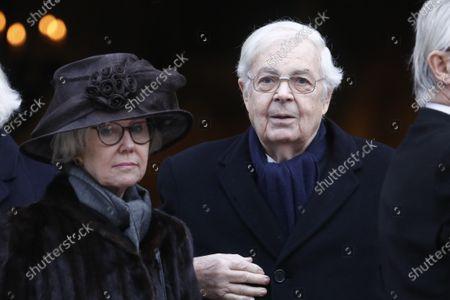 Stock Photo of Count Bertil Bernadotte af Wisborg and Countess Jill Bernadotte af Wisborg