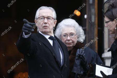 Princess Christina and her husband Tord Magnuson