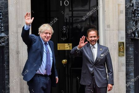 Editorial photo of Sultan of Brunei visit to London, UK - 04 Feb 2020
