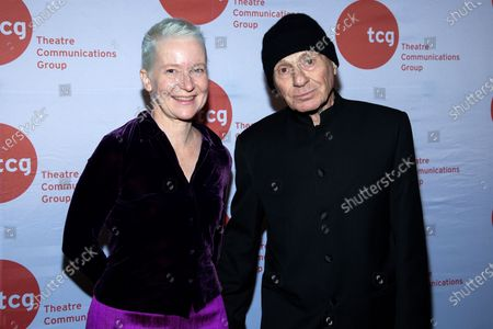 Stock Picture of Maude Mitchel and Lee Breuer