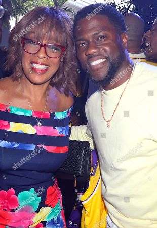 Gayle King and Kevin Hart