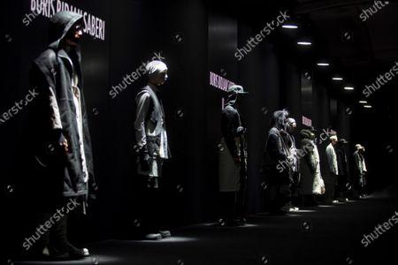 Editorial image of 080 Barcelona Fashion in Barcelona, Barcelona Es Es, Spain - 04 Feb 2020