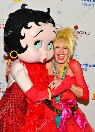 Stock Picture of Betty Boop and Betsey Johnson